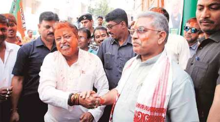 Pushed To Periphery: TMC blames Mukul Roy for dismal show