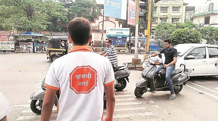 Stunts on streets to spread awareness on traffic rules