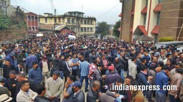 nagaland election results, nagaland election photos, tripura election result images, tripura election images, meghalaya election result 2018 pictures, northeast polls pics, tripura assembly poll result 2018 pictures, indian express