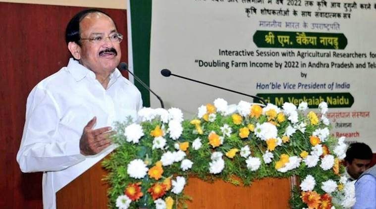 Venkaiah Naidu calls for civic governance