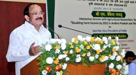 Vice President Venkaiah Naidu calls for increased investments inagriculture