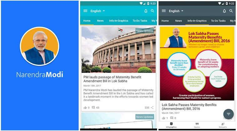 Narendra Modi Android app sharing personal info of users without consent: Researcher