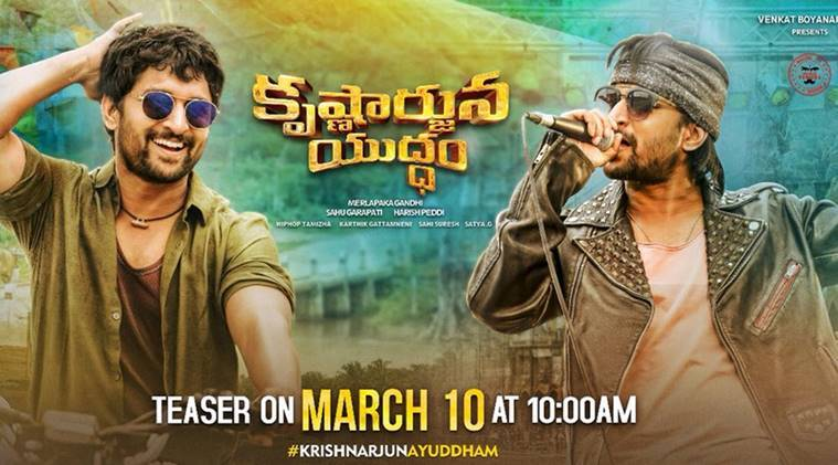 Natural Star Nani's Krishnarjuna Yuddham Teaser Released