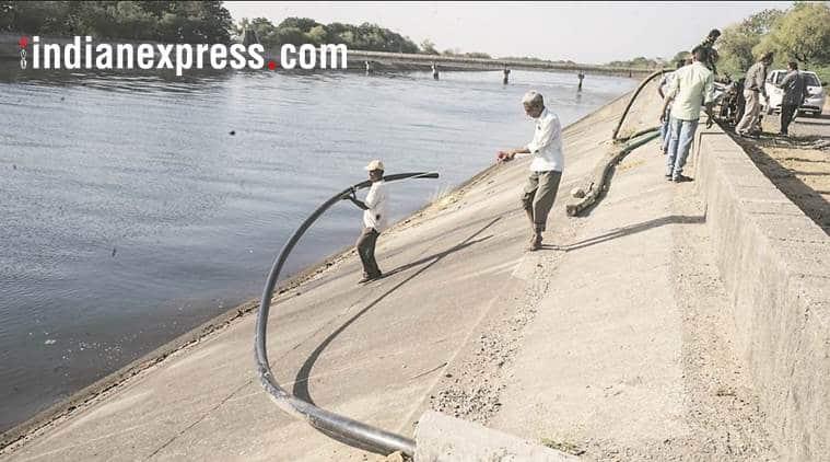 narmada dam, gujarat farmers, sardar sarovar dam, narmada water dispute, ssnnl, indian express