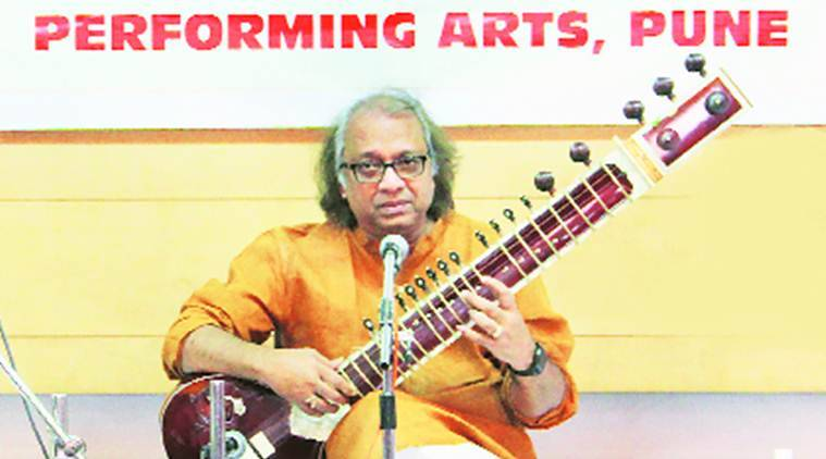 Pandit Nayan Ghosh, sitar maestro Pandit Nayan Ghosh, workshop on performing sitar, performing sitar workshop, pune news, indian express news