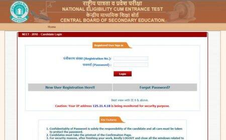 CBSE NEET 2018: Correction facility available till March 16, make changes atcbseneet.nic.in