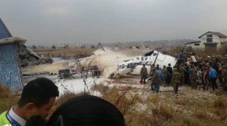 Nepal plane crash highlights: Bangladesh aircraft catches fire at Kathmandu airport, over 50 feared dead