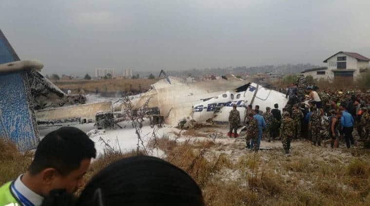 nepal plane crash, nepal air crash, bangladesh air crash
