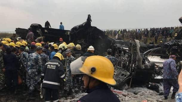 Nepal kathmandu plane crash