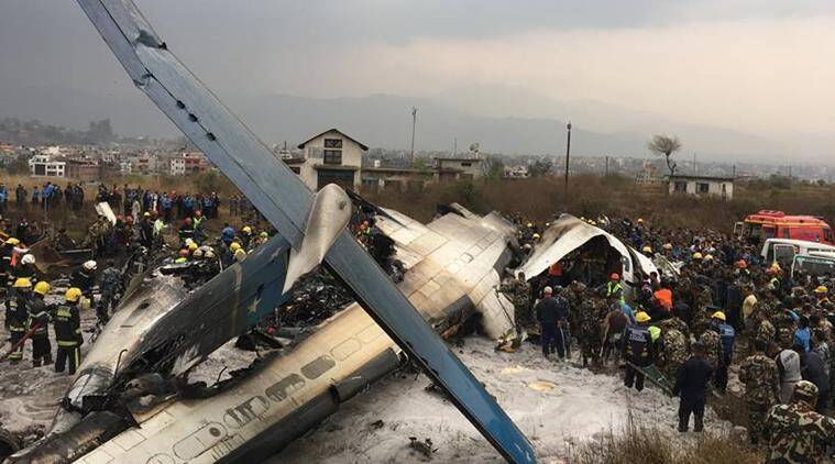 50 left dead after Bangladesh aircraft crashes in Nepal