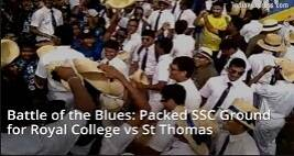Battle of the Blues: Packed SSC Ground for Royal College vs St Thomas in Sri Lanka