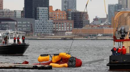 Feds probe New York helicopter crash, examine passenger restraints