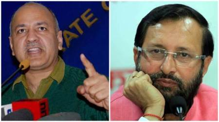 Manish Sisodia to Prakash Javadekar: Let's sit and brainstorm