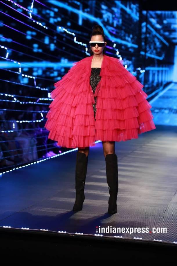Amazon India Fashion Week 2018, Amazon India Fashion Week Rabani Rakha, Amazon India Fashion Week Siddharth Tyler, Amazon India Fashion Week final day, Amazon India Fashion Week Namrata Joshipura, Amazon India Fashion Week Pero, indian express, indian express news