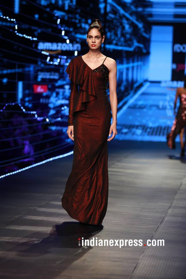 Amazon India Fashion Week 2018, Amazon India Fashion Week Rabani Rakha, Amazon India Fashion Week Siddharth Tyler, Amazon India Fashion Week final day, Amazon India Fashion Week Namrata Joshipura, Amazon India Fashion Week Pero, indian express, indian express news