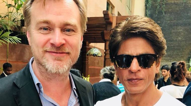 christopher nolan and srk