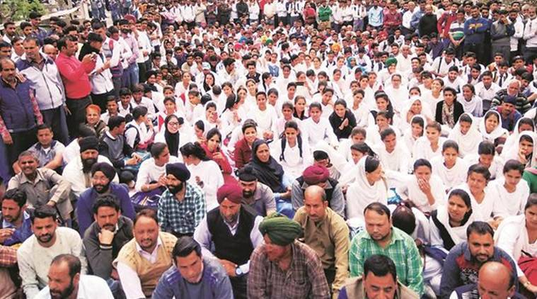 Nowshera, Nowshera district, Nowshera protest, india news, indian express news