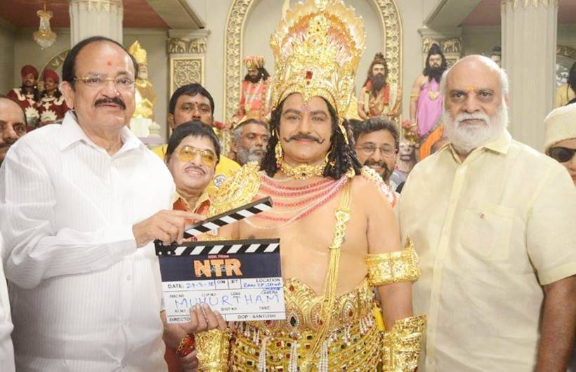 Balakrishna is only son in India to play his father: Venkaiah Naidu