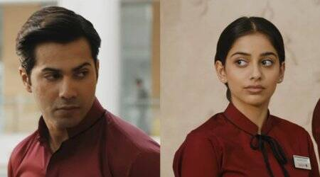 October song Theher Ja: Banita is stealing glances at Varun in this breezy romantic track