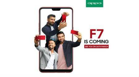 Oppo F7 full specifications, features officially unveiled ahead of March 26 launch