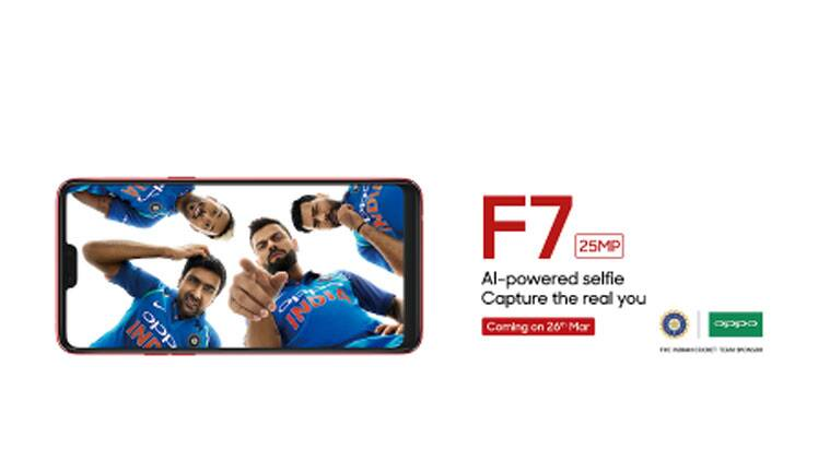 Oppo F7, Oppo, Oppo F7 price in India, Oppo F7 specifications, Oppo F7 features, Oppo F7 livestream, Oppo F7 vs Vivo V9, Vivo V9
