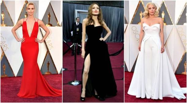 oscar gowns, best oscars gowns, oscars best gowns, oscars red carpet, priyanka chopra, lady gaga, penelope cruz, cate blancett, julia roberts, tina fey, lupita nyong, angelina jolie, jennifer lawrence, emma stone, oscars worst dressed, oscars worst dresses ever, oscars worst dressed ever, oscars best and worst, oscars flashback, oscars fashion, celeb fashion, hollywood fashion, indian express, indian express news