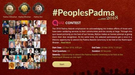 How to win tickets to attend 2018 PadmaAwards