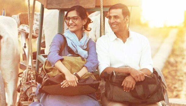 sonam kapoor and akshay kumar in padman
