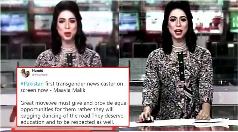 Twitterati welcome Pakistan's first transgender news anchor