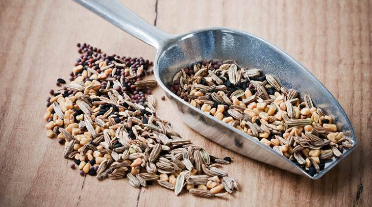 Keep stomach calm with ginger, fennel seeds
