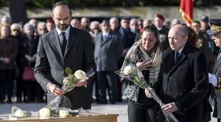 French PM leads funerals for four victims of extremist attack