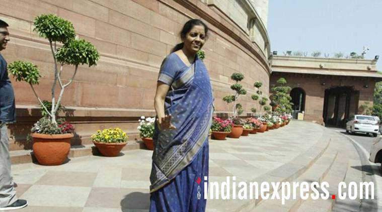 Nirmala Sitharaman is guest at Express Adda today