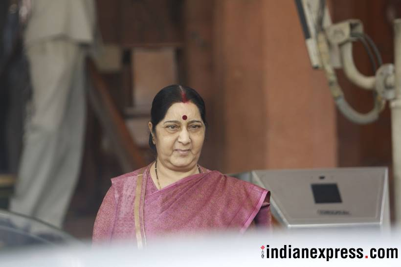 39 Indians kidnapped in Iraq were killed but Harjit Massih was lying: Sushma Swaraj tellsParliament