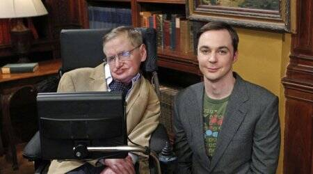 Jim Parsons says it was intimidating to work with StephenHawking