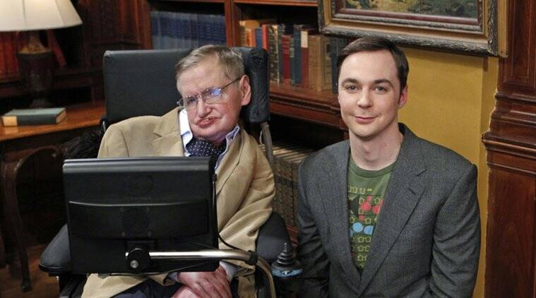 jim parsons with stephen hawking