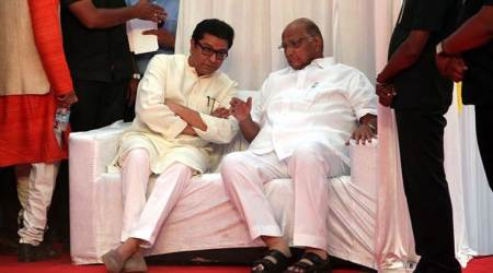 Raj Thackeray meets Sharad Pawar ahead of MNS rally