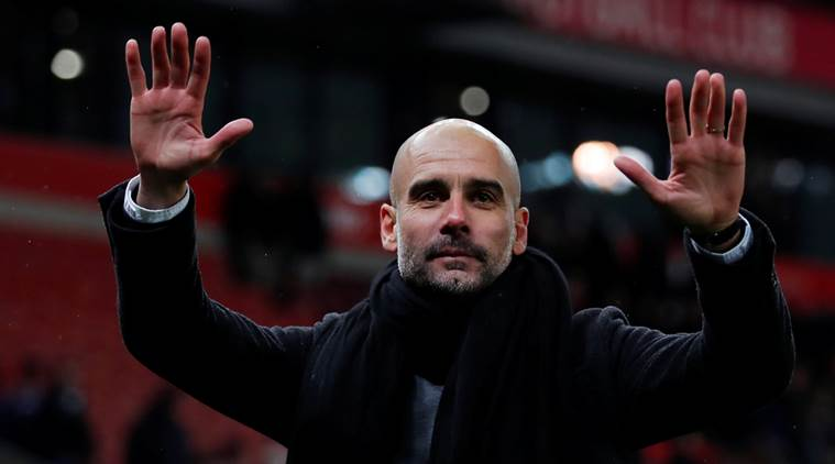 Pep Guardiola talks down prospect of Premier League title party against Manchester United