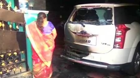 Petrol bomb hurled at BJP district chief's house in Tamil Nadu, none hurt