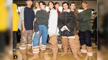 Paris Fashion Week 2018: Would you dare try these oversized thigh-high 'Uggboots'?