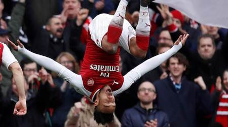 Forced absence from Europa League frustrates Arsenal's Pierre-EmerickAubameyang
