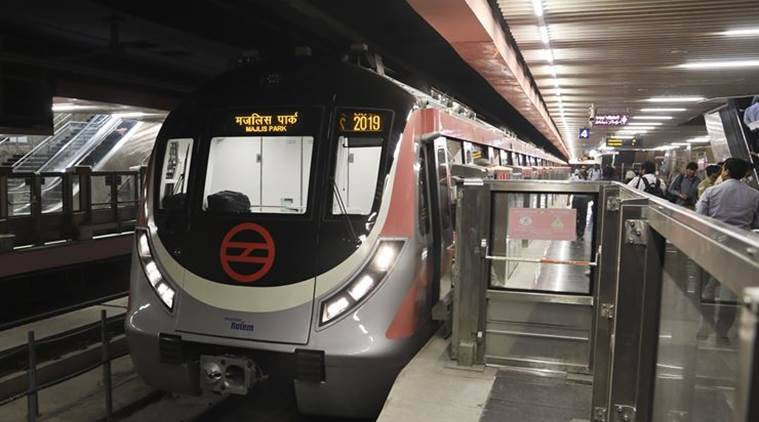 Delhi metro, DMRC, Delhi metro average ridership, delhi news, indian express news