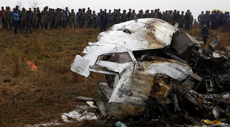 Authorities recover black box from site of Nepal plane crash