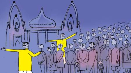 Cops in dhoti, kurta inside Kashi Vishwanath temple, IGP says this is to respect sentiments ofworshippers