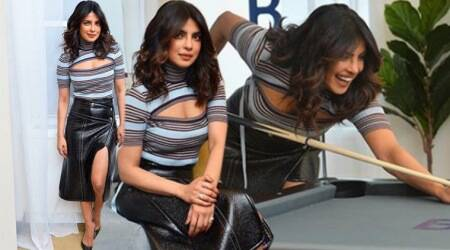 Priyanka Chopra gives some style inspiration on how to wear a leather skirt