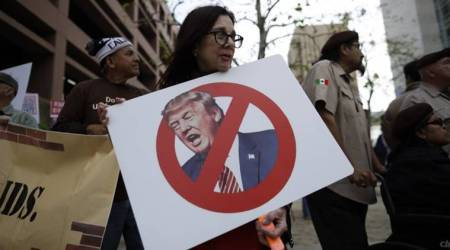 Protests to await Trump's visit to Californiaborder