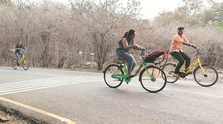 Two firms — Bengaluru-headquartered Zoomcar (PEDL) and Chinese firm OFO — have started cycle rental services in the city by deploying about 1,200 cycles