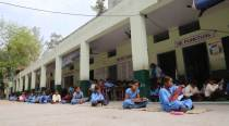 Final exams in govt schools of Punjab: On the floor, under the sun and trees
