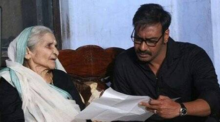 Here's what Kajol has to say about Ajay Devgn's 85-year-old Raid co-star Pushpa Joshi