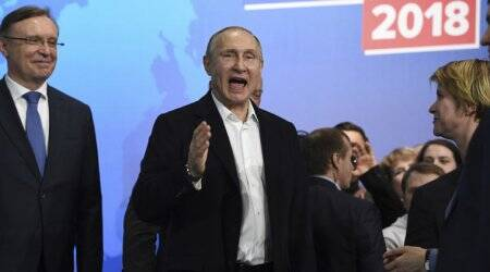 Vladimir Putin wins Russia presidential election, re-elected for another 6 years