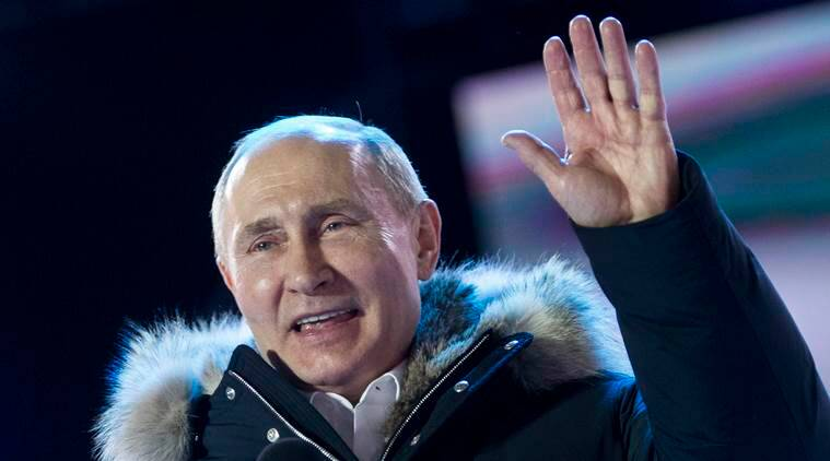 Putin Re-Elected as Russian President